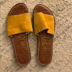 Sam Edelman Gio Suede Flat Sandal